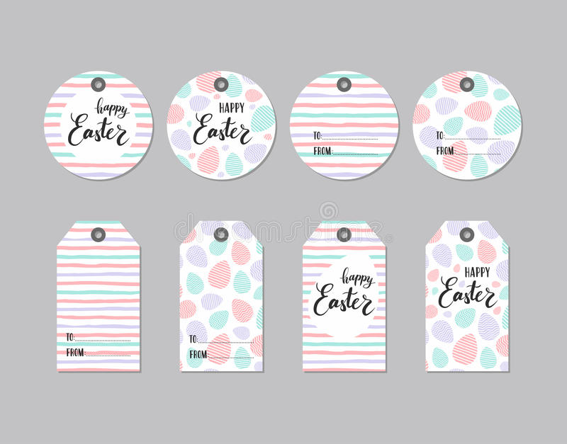 Collection of cute gift tag happy easter stock vector download collection of cute gift tag happy easter stock vector illustration of blank negle Gallery