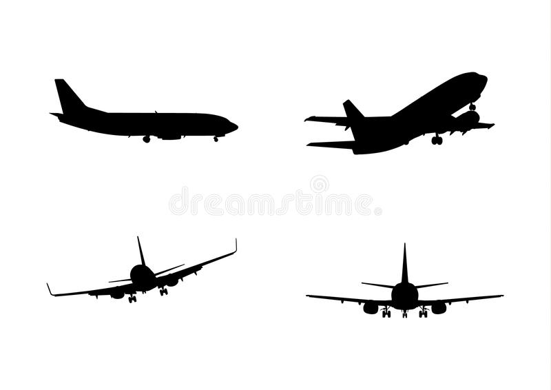 Collection d'avion photographie stock