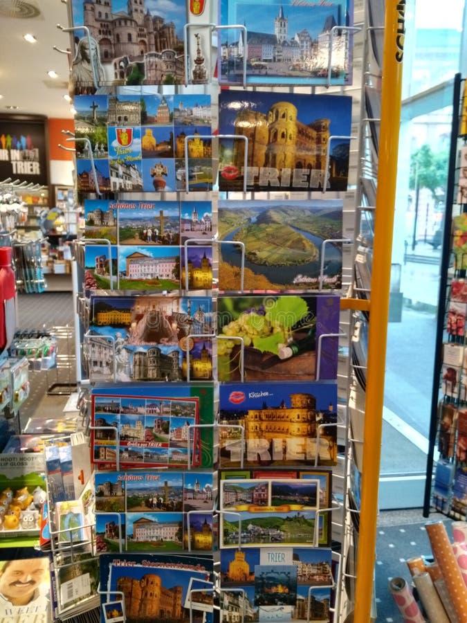 Collection de cartes postales photos libres de droits