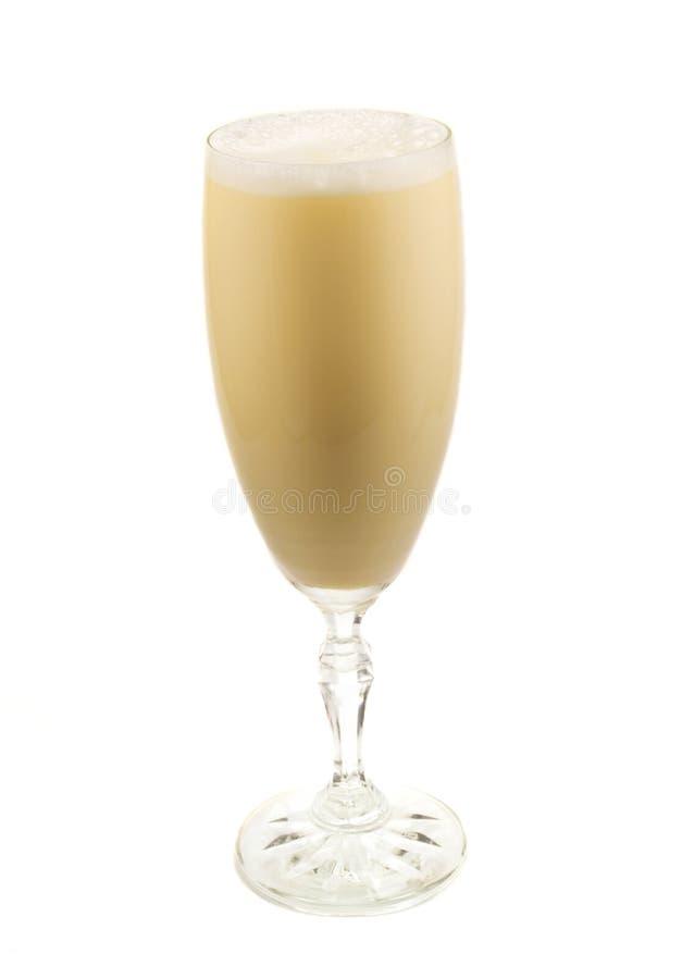 Collection de cocktails - lait de poule photographie stock