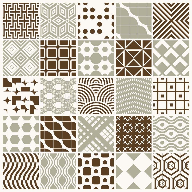 Collection de compositions sans couture d'abrégé sur vecteur meilleures pour l'usage illustration de vecteur