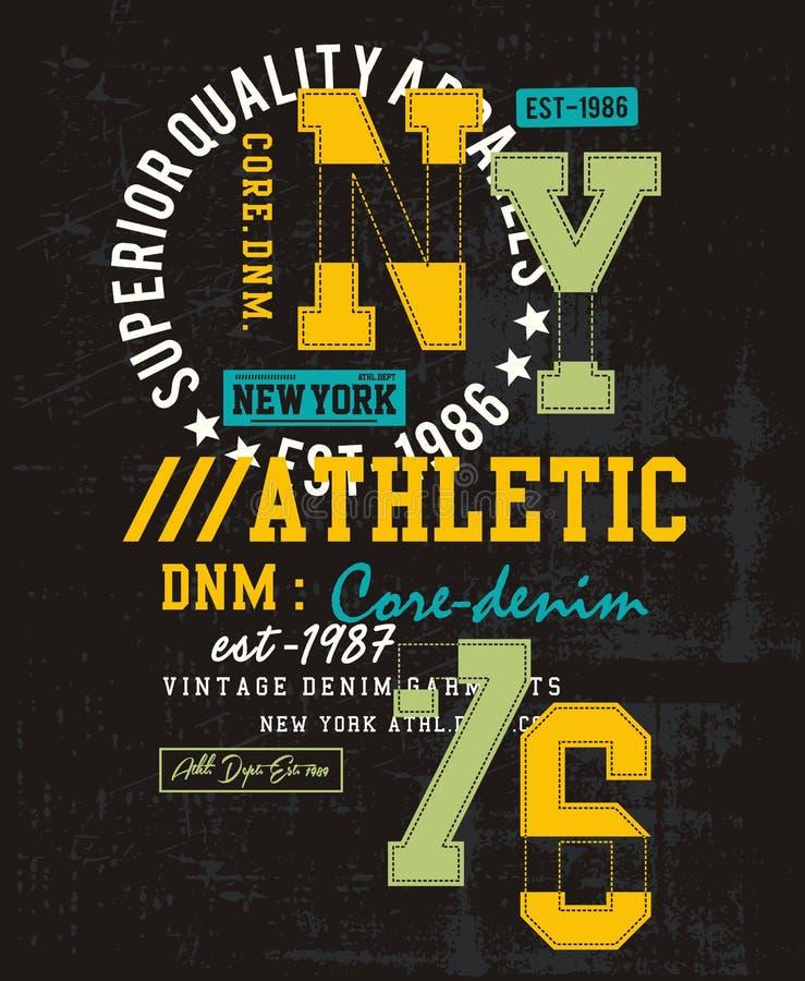 Collection 025 de fac de typographie de vecteur illustration de vecteur