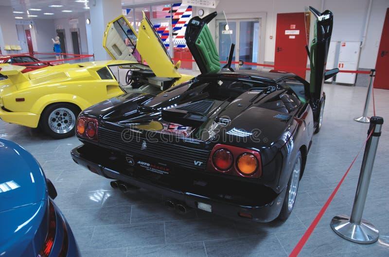 Download Collection de Lamborghini image éditorial. Image du arrière - 56475335