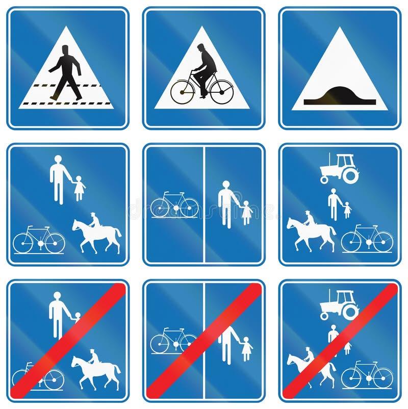 Download Collection De Panneaux Routiers Utilisés En Belgique Illustration Stock - Illustration du agricole, belgium: 77155425
