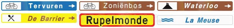 Download Collection De Panneaux Routiers Utilisés En Belgique Illustration Stock - Illustration du illustration, conseil: 77155718