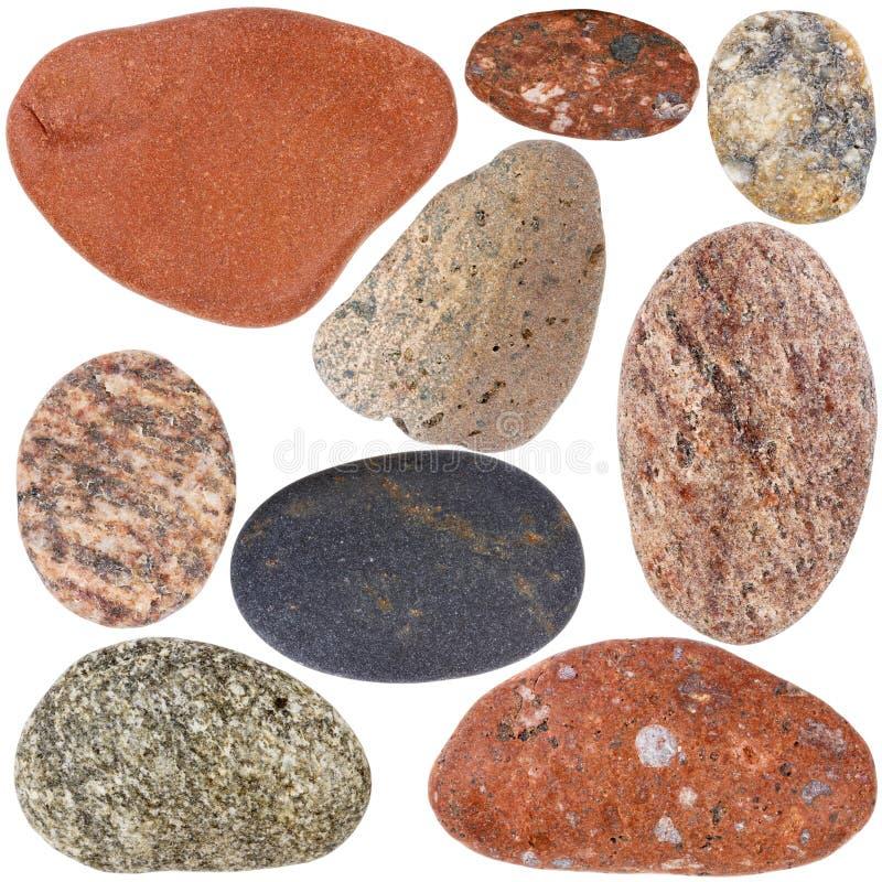Collection de roches photos libres de droits