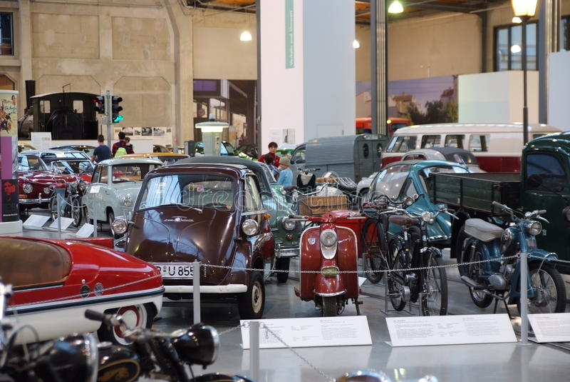 Collection de véhicule de vintage photos libres de droits