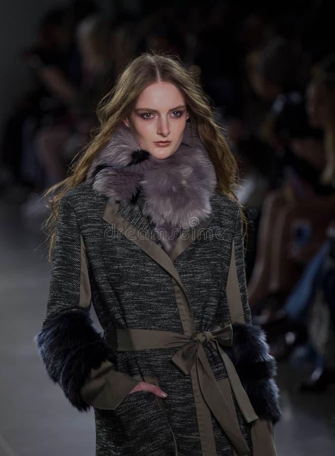 Collection de Vivienne Hu Fall /Winter pendant la semaine de mode de New York photo libre de droits