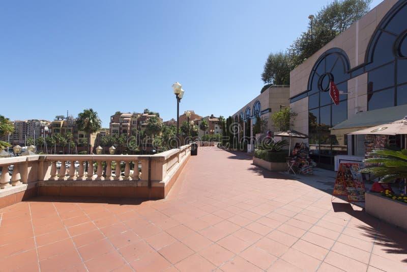 Collection de voitures de dessus du Monaco, Monaco photographie stock libre de droits