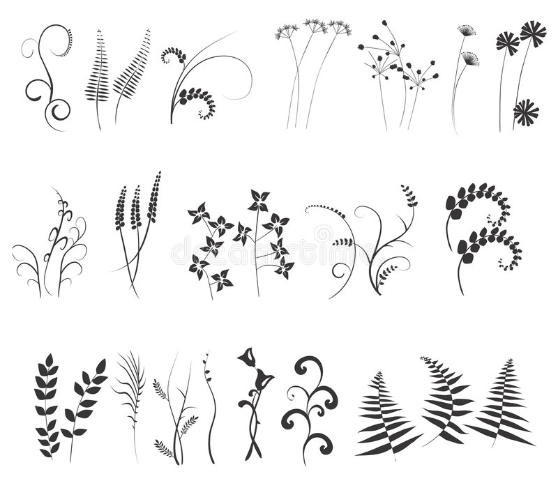 Collection, for designers vector illustration
