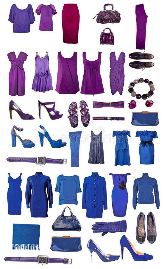 Download Collection Of Dress And Shoes Stock Image - Image: 7904509