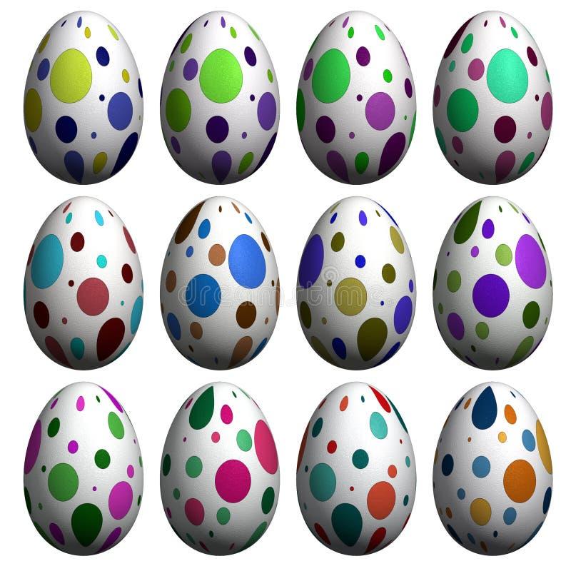 collection easter egg иллюстрация штока