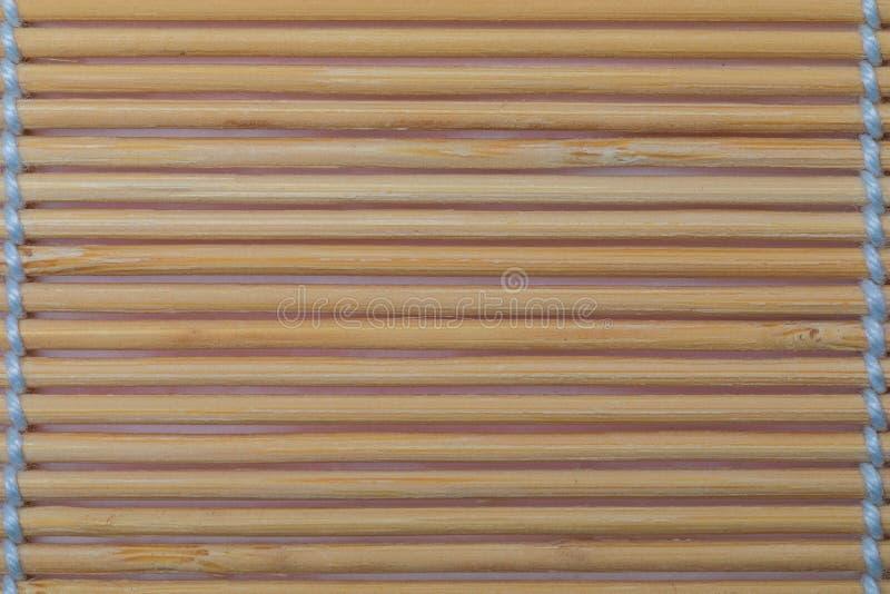 Collection en bambou légère de texture de légume et de fibres naturelles photographie stock