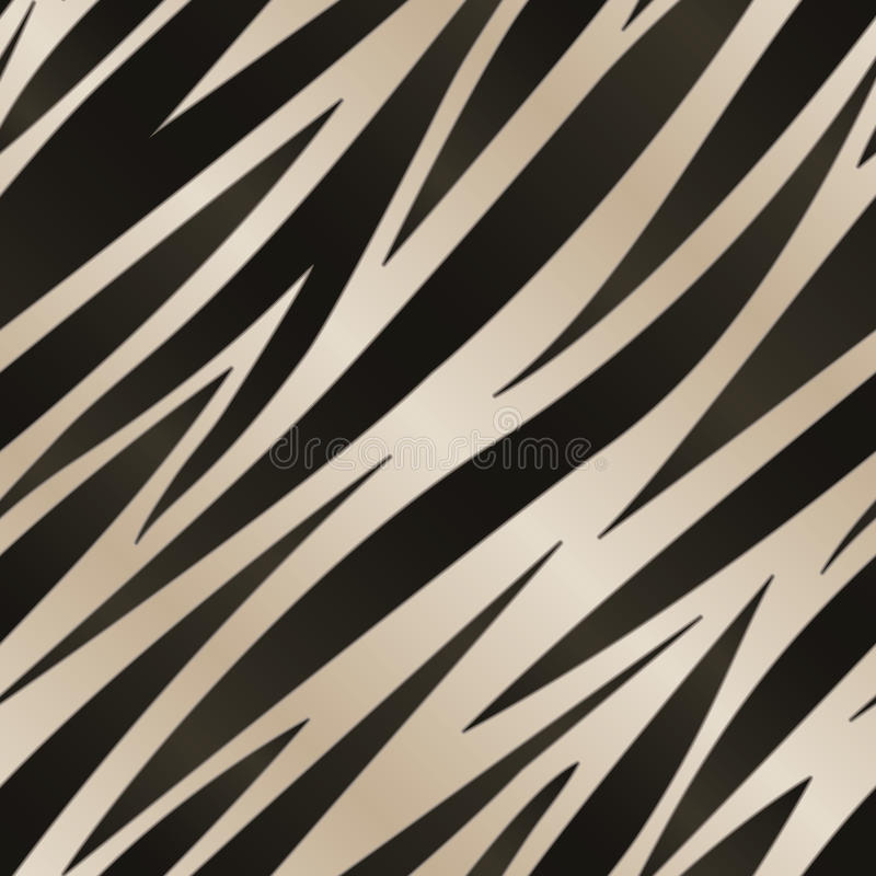 Download Zebra Stripe Pattern stock vector. Illustration of nature - 30230125