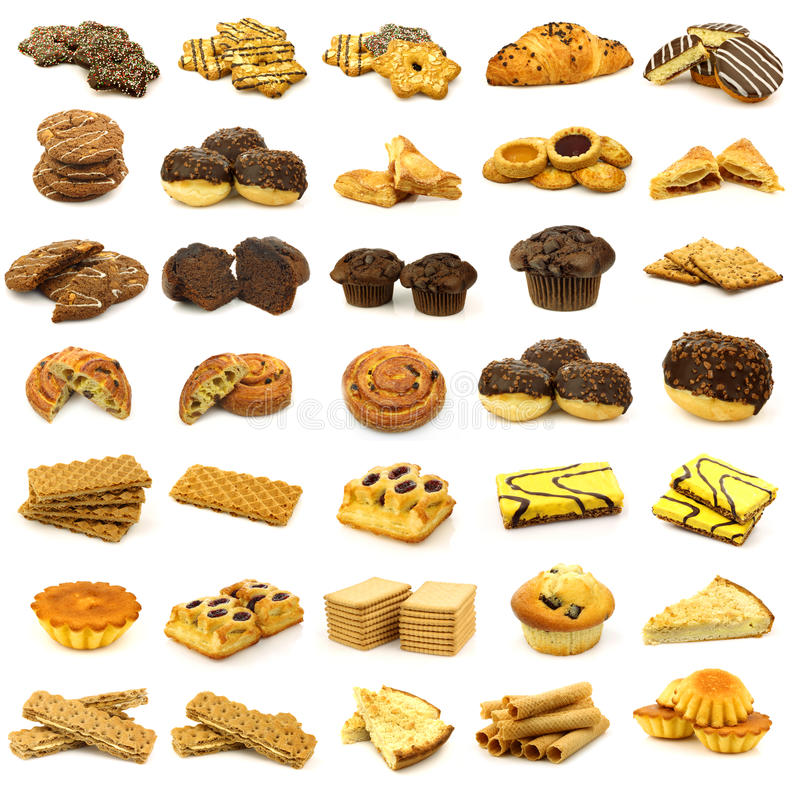 Download Collection Of Freshly Baked Pastry Stock Image - Image of assortment, turnover: 22006143