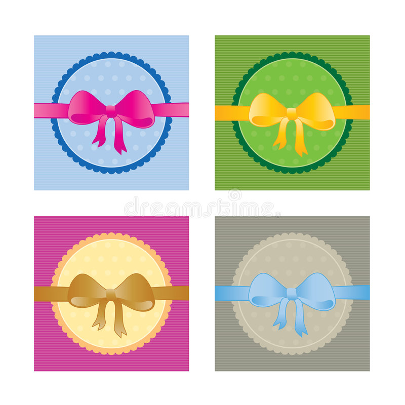 Download Collection Of Gift Cards/tags Stock Vector - Image: 5836039