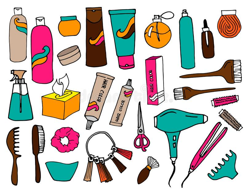 Accessories Coiffure Stock Illustrations 429 Accessories Coiffure Stock Illustrations Vectors Clipart Dreamstime