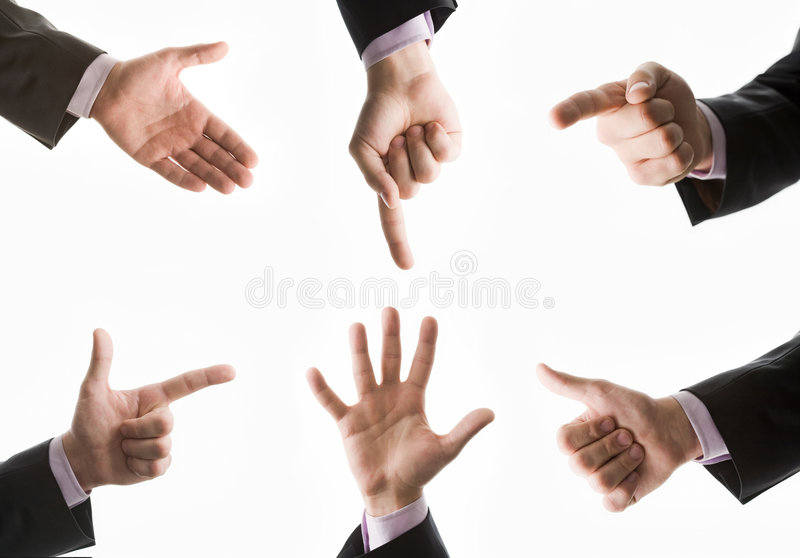 Download Collection of hands stock image. Image of approve, agreement - 7577537