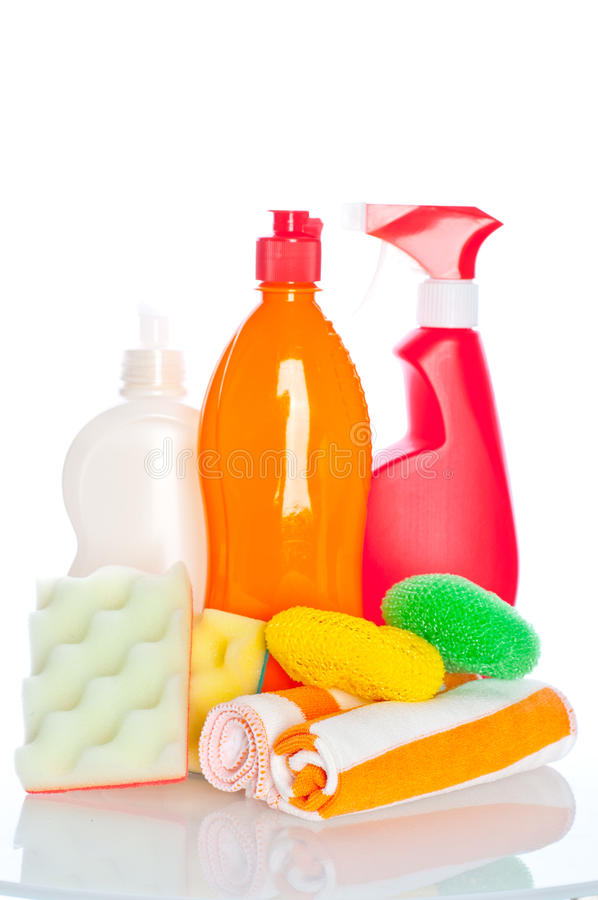 Download Collection Of Hygiene Cleaners For Housework Stock Image - Image: 21429623