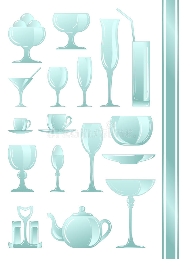 Download Collection Of Icons For Coffee Shop. Set. 2 Stock Vector - Image: 24307380