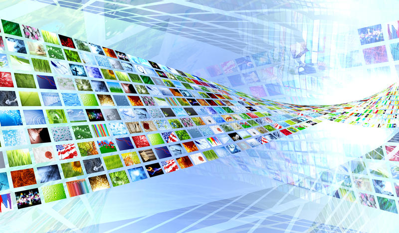 Download Collection of images stock illustration. Image of electronic - 16567806
