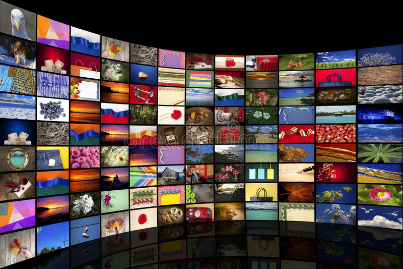 Download Collection of images stock photo. Image of broadcasting - 24483126