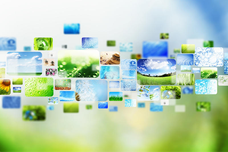 Download Collection of images stock illustration. Illustration of abstract - 26258551