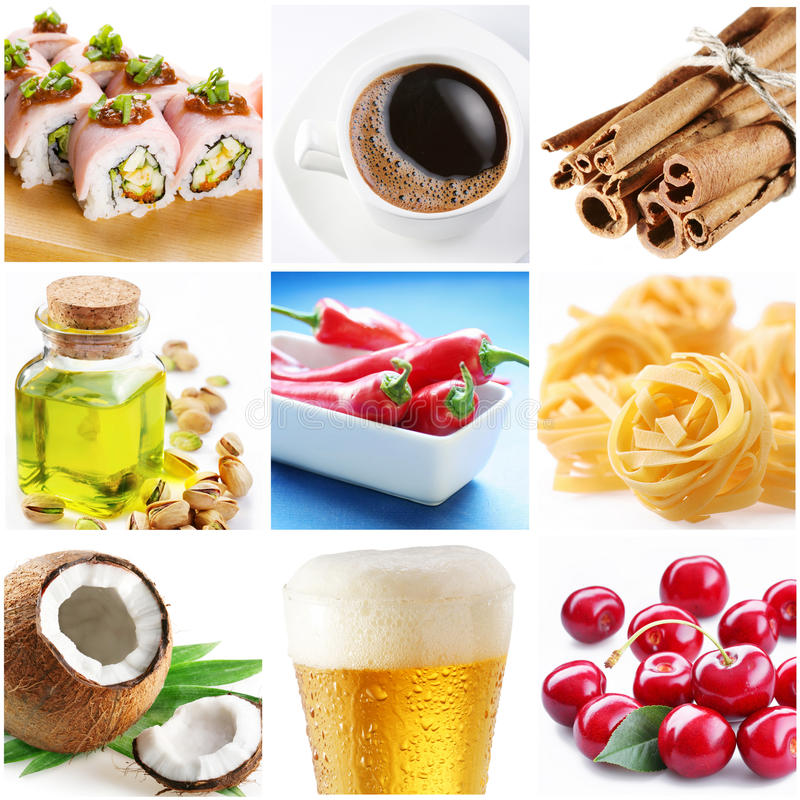 Download Collection Of Images Of Food Royalty Free Stock Photo - Image: 13047355