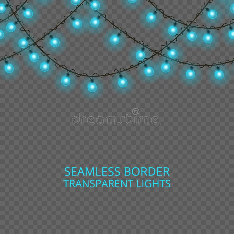 Collection of light effects. stock illustration