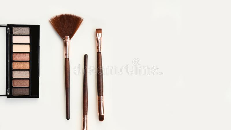 Collection of make up and cosmetic stock photos