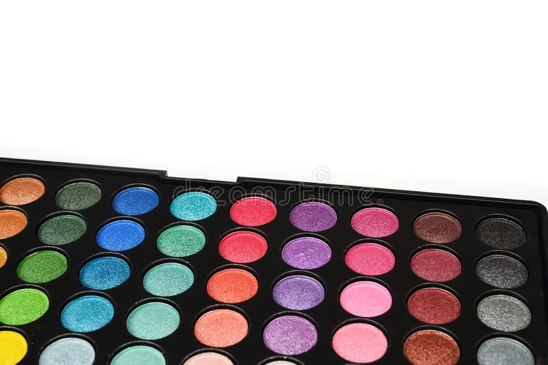 Collection of make up and cosmetic royalty free stock images