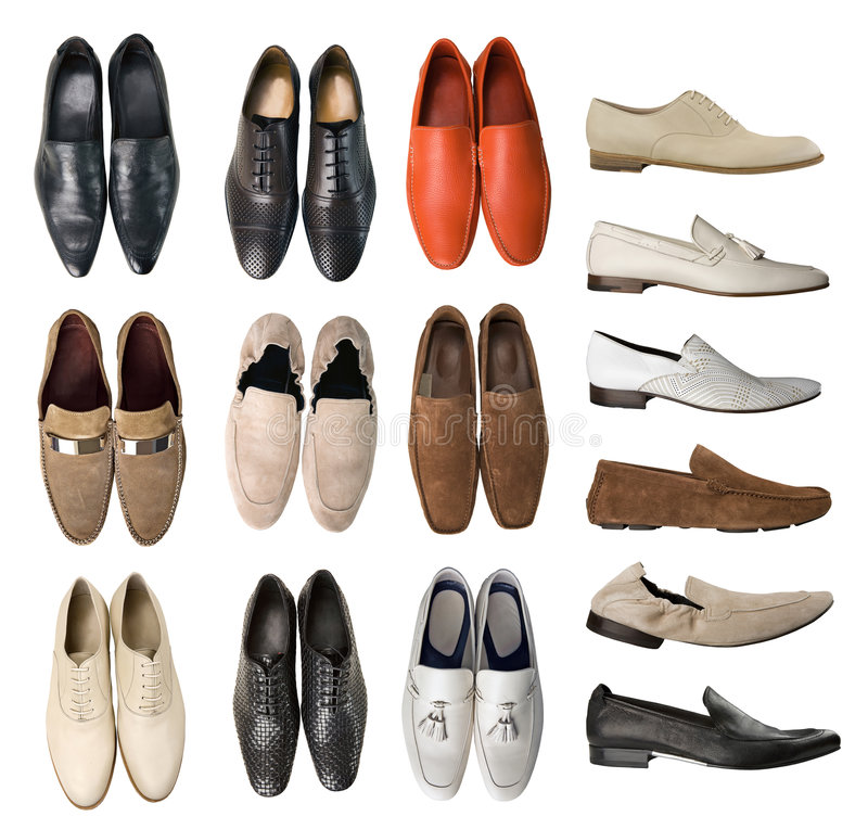 Collection of men shoes