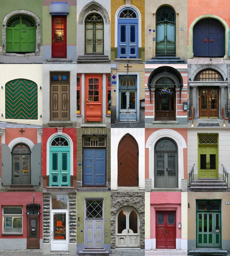 Free Collection Of Doors Royalty Free Stock Photography - 7187017