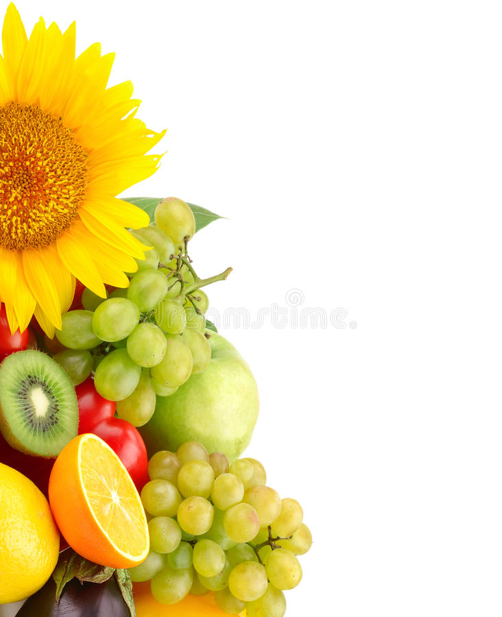 Free Collection Of Fruits And Vegetables Stock Photos - 26559793