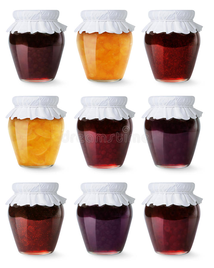 Free Collection Of Jam Jars Stock Photos - 25708933