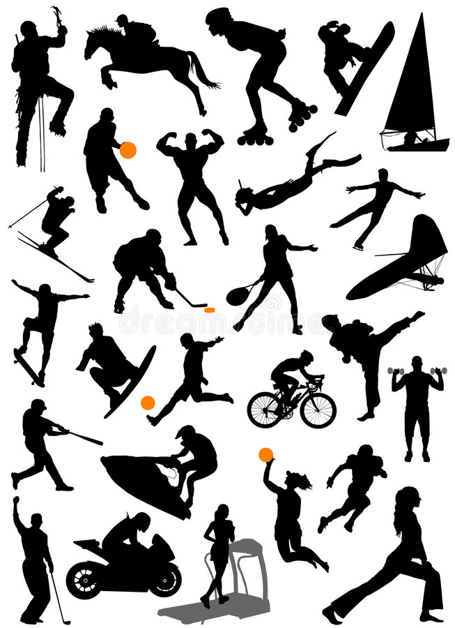 Free Collection Of Sports Vector 5 Stock Image - 5241891