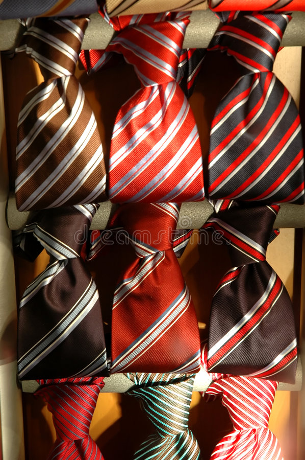 Free Collection Of Ties Stock Image - 1220871