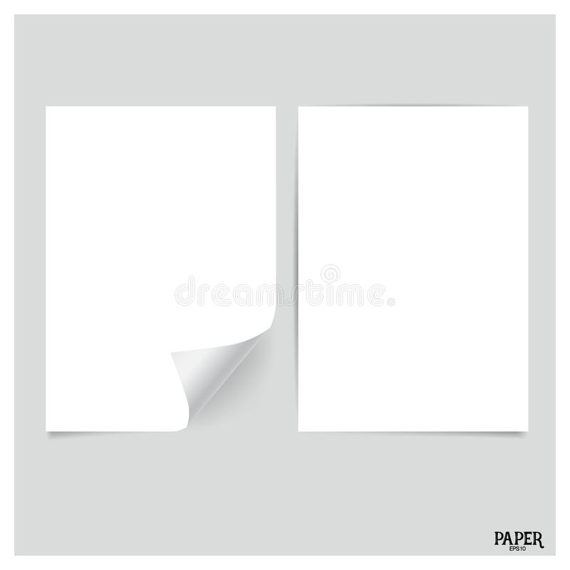 Free Collection Of White Papers, Ready For Your Message. Vector Illus Stock Photography - 73332092