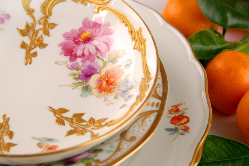Download Collection of old plates stock image. Image of porcelain - 8668301
