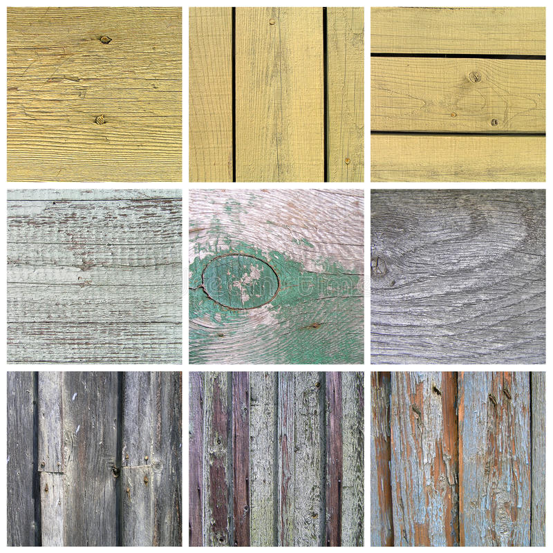 Download Collection Of Old Wooden Planks Texture Stock Illustration - Illustration: 24893511