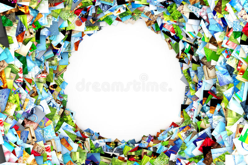 Download Collection of photos stock illustration. Image of color - 22108520