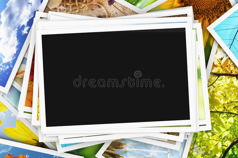 Collection Of Photos Stock Photography