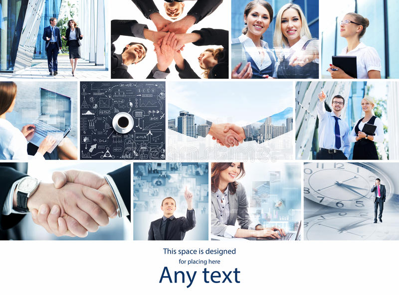 Collection of photos about business with handshakes stock photos