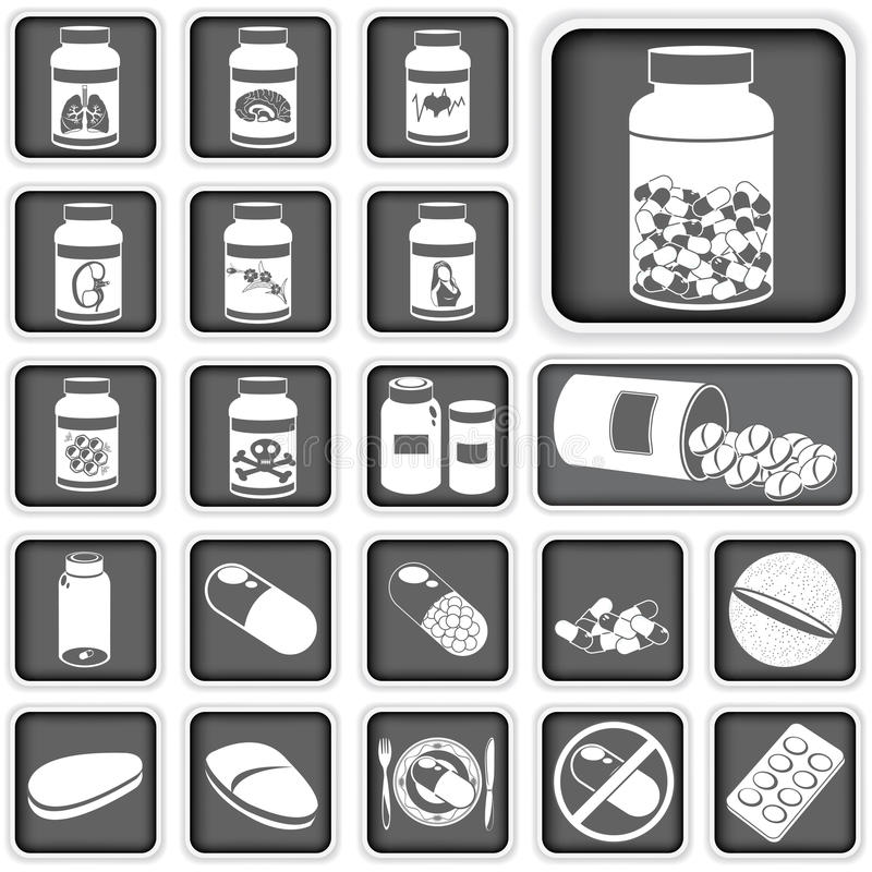Download Collection Of Pills Stock Photography - Image: 32140252