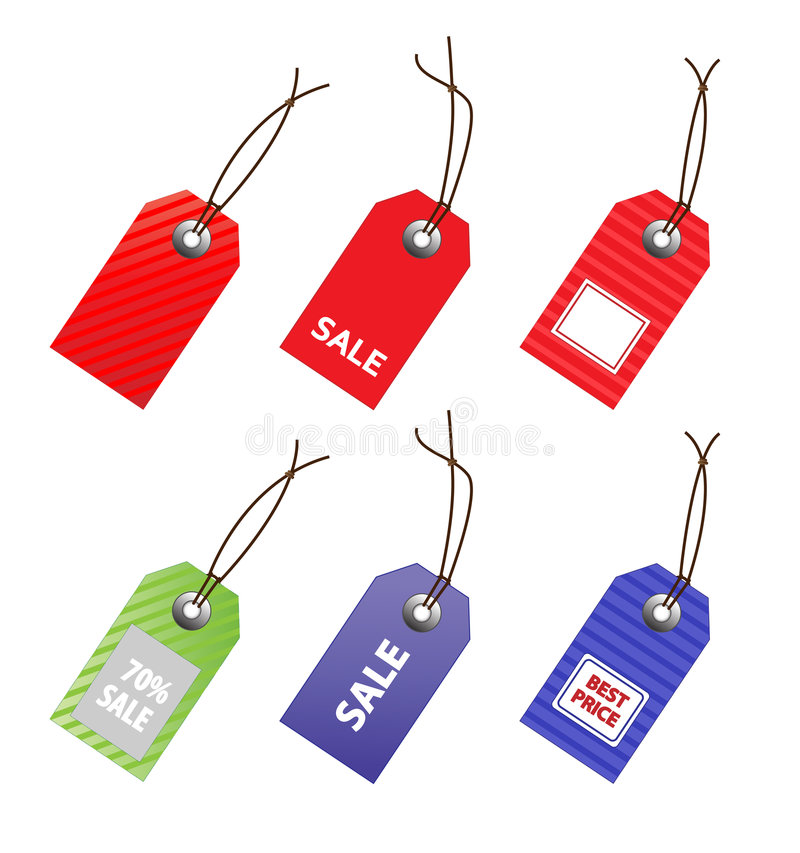 Download Collection Of Price Tags. Stock Image - Image: 7721791
