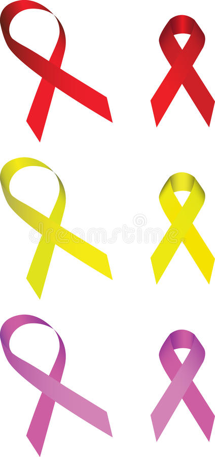 Collection Of Ribbon Stock Image