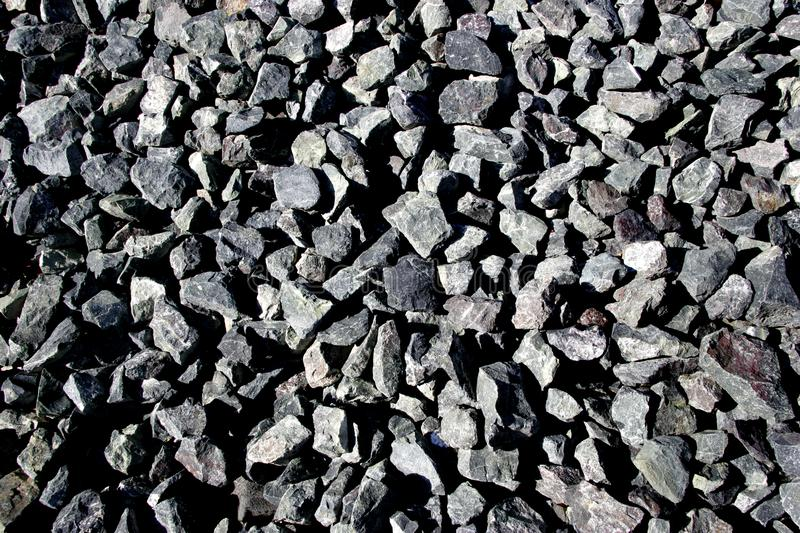 A Collection of Rocks stock image