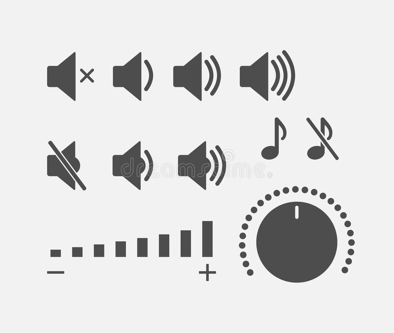 Collection saine d'icônes de contrôleur de Digital illustration de vecteur