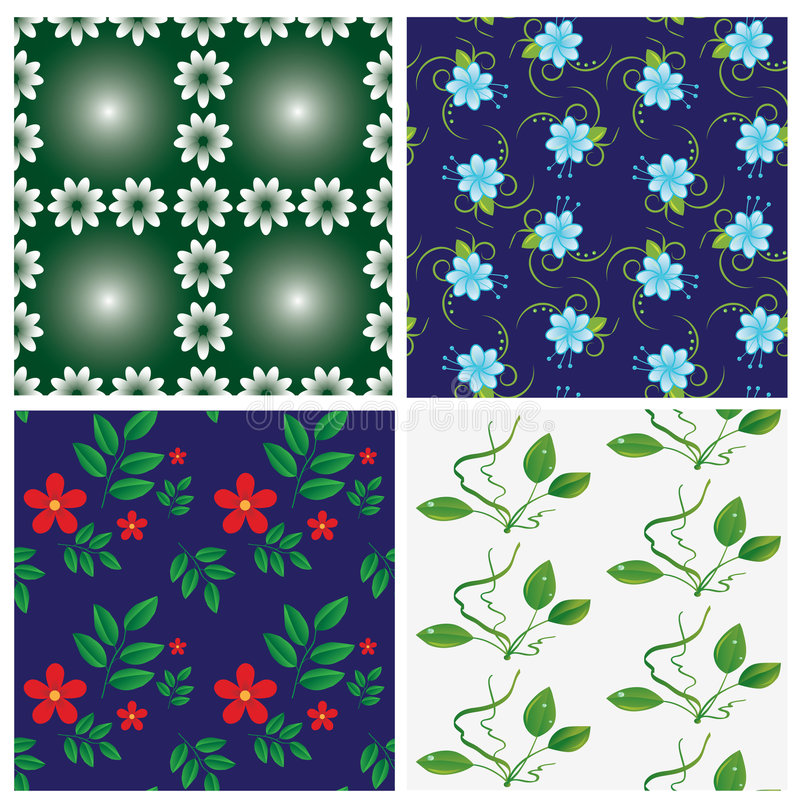 Download A Collection Of Seamless Backdrops Stock Vector - Image: 6974200