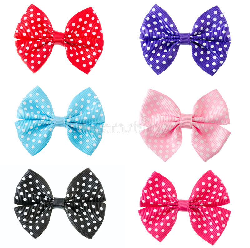 Download Collection Set Of Colorful Ribbon Bows Stock Photo - Image of collection, background: 32575946